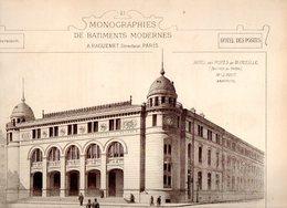 Monographies De Bâtiments Modernes N° 80 : Hôtel Des Postes De Marseille (13) - Architecture
