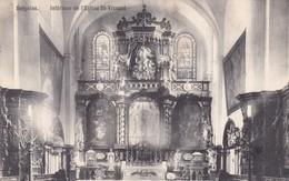 619 Soignies Interieur De L Eglise St Vincent - Soignies