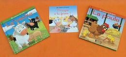 Les Animaux à La Ferme La Vache / La Poule + CD  Musique à La Ferme - Bücher, Zeitschriften, Comics