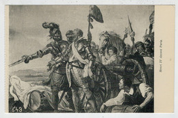HENRI  IV  DEVANT  PARIS                    (NUOVA) - Personaggi Storici