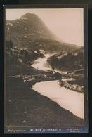 NORGE - VEILEN FRA STALHEIM TIL GUDVANGEN - PHOTOGRAPHICUM  A.S. HAGEN  MOLDE - 14.8 X 9.8 CM - Norwegen