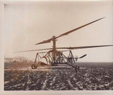 FRANCE : BREGUET GYROPLANE . PILOTE MAURICE CLAISSE . ( FORMAT 24,1 /18 Cm ) - Aviation