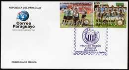 Paraguay Rubio Nú Football Soccer 2013 FDC - Paraguay