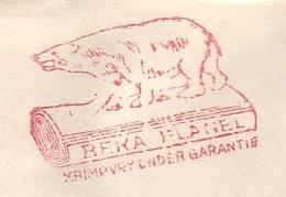 Meter Cover Netherlands 1957 Polar Bear - Flannel - Arctische Expedities