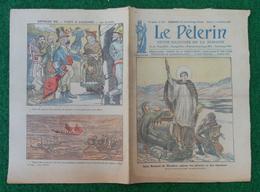 Revue Illustrée Le Pèlerin - Septembre 1923 - Lancement Du Croiseur Léger Duguay Trouin Dans L'arsenal De Brest - Journaux - Quotidiens