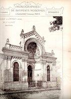 Monographies De Bâtiments Modernes N° 79 : Synagogue à Épernay (51) - Architecture