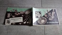 Catalogue WMF Wurttembergische Metallwarenfabrik Koblenz Vaisselle Tarif Joint 1952 - Home Decoration