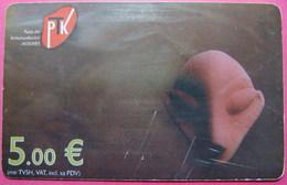 Kosovo CHIP PHONE CARD 5 EURO Operator VALA900. Serial # 56... *ARCHEOLOGY* - Kosovo