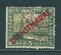 Saar MiNr. D 1  (sab63) - Service