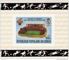 Congo Nº A280 Al A284 En Hojas Sobrecargadas - 1982 – Espagne