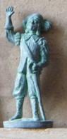 MONDOSORPRESA, (SLDN°50) KINDER FERRERO, SOLDATINI IN METALLO MOSCHETTIERI, E25 - 35MM - Figurines En Métal