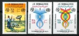 1981 Somalia Telecomunicazioni Telecmmunications Set MNH** - Somalia (1960-...)