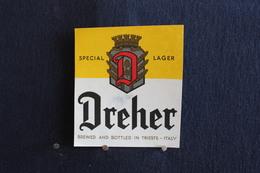 étiquettes De Bière - Beerlabel - Bieretiket / Italie - Etichetta Birra Beer Bière DREHER - Special Lager - Bière