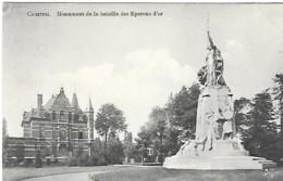 COURTRAI - MONUMENT DE LA BATAILLE DES EPERONS D'OR - Belgium