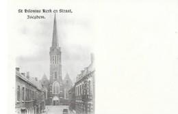 ISEGHEM - ST HILONIUS KERK EN STRAAT - Andere