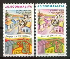 1987 Somalia Annèe Du Logement Des Sansabri Set MNH** - Somalia (1960-...)