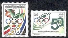 Année 2013-N°1665/1666 Neufs**MNH : Cinquantenaire Du Comité Olymique Algérien (COA) - Algerien (1962-...)