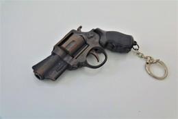 Vintage TOY GUN : SUPER COLT COBRA D&E 358 Revolver - L=9cm - Keychain 19**s - Keywords : Cap - Cork - Pistol - Armes Neutralisées