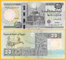 Egypt 20 Pounds P-65 2018 (Date 31.1.2018) UNC Banknote - Egypte