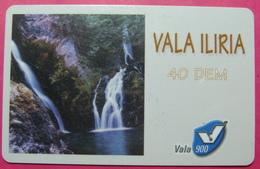 Kosovo Prepaid Phonecard, 40 DM. Operator VALA, *Spring Of White Drim River*, VERY RARE, Serial # 08...., Few Remains - Kosovo