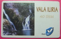 Kosovo Prepaid Phonecard, 40 DM. Operator VALA, *Spring Of White Drim River*, VERY RARE, Serial # 18...., Few Remains - Kosovo