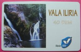 Kosovo Prepaid Phonecard, 40 DM. Operator VALA, *Spring Of White Drim River*, VERY RARE, Serial # 55...., Few Remains - Kosovo