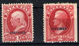 E.Unidos (tasas) Nº 77/8. Año 1873 - Unused Stamps