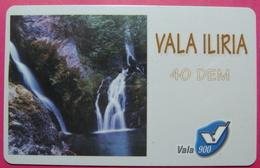 Kosovo Prepaid Phonecard, 40 DM. Operator VALA, *Spring Of White Drim River*, VERY RARE, Serial # 79...., Few Remains - Kosovo