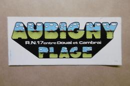 Autocollant AUBIGNY PLAGE Entre DOUAI Et CAMBRAI 59 LE NORD - Autocollants