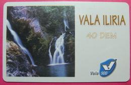 Kosovo Prepaid Phonecard, 40 DM. Operator VALA, *Spring Of White Drim River*, VERY RARE, Serial # 82...., Few Remains - Kosovo