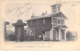 78 - LE TREMBLAY : Le CHATEAU - La Maison Du Garde - CPA Village (920 Habitants) - Yvelines - Frankreich