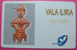 Kosovo Prepaid Phonecard, 100 DM. Operator VALA, *Archeology*, VERY RARE, Serial # 45...., Few Remains - Kosovo