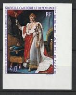 Nouvelle Calédonie - PA N° 108 ** NON DENTELE (1969) Napoléon 1er - Geschnitten, Drukprobe Und Abarten