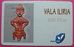Kosovo Prepaid Phonecard, 100 DM. Operator VALA, *Archeology*, VERY RARE, Serial # 72...., Few Remains - Kosovo