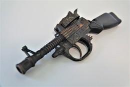 Vintage TOY GUN : MACHINE GUN T8 Parts/repair - L=21.0cm - 19??s  - Keywords : Cap - Rifle - Revolver - Pistol - Decotatieve Wapens