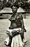 CARTE FOTO CONGO BELGE MWEKA JEUNE HOMME BAKUBA - Congo - Kinshasa (ex Zaire)