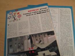 SPI2019 Issu De SPIROU 1975/76 / MISTER KIT Présente : DOUBLE PAGE A4 / COMMENT REALISER FACILEMENT UN DIORAMA - Revues