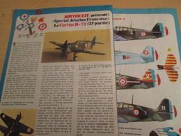 SPI2019 Issu De SPIROU 1975/76 / MISTER KIT Présente : DOUBLE PAGE A4 / CURTISS H-75 FRANCAIS Part II - Revues