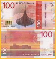 Norway 100 Kroner P-54 2016 UNC Banknote - Noorwegen