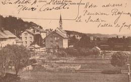 Suisse- Le Sentier 1916- Vallée De Joux  (interné Militaire Français) - VS Valais