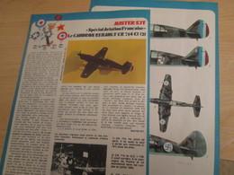 SPI2019 Issu De SPIROU 1975/76 / MISTER KIT Présente : DOUBLE PAGE A4 / LE CAUDRON-RENAULT CR714 - Revues