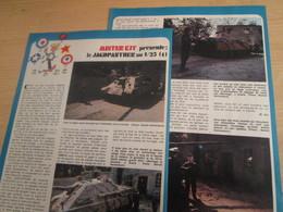 SPI2019 Issu De SPIROU 1975/76 / MISTER KIT Présente : DOUBLE PAGE A4 / LE JAGDPANTHER AU 1/25e - Revues
