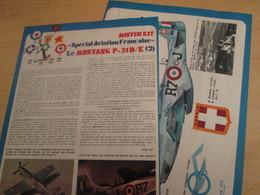 SPI2019 Issu De SPIROU 1975/76 / MISTER KIT Présente : DOUBLE PAGE A4 / LE MUSTANG P-51D/K FRANCAIS - Revues