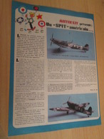 SPI2019 Issu De SPIROU 1975/76 / MISTER KIT Présente : PAGE A4 / UN SPITFIRE AMERICAIN - Revues