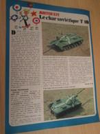SPI2019 Issu De SPIROU 1975/76 / MISTER KIT Présente : PAGE A4 / LE CHAR SOVIETIQUE T10 - Revues