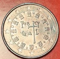 PORTOGALLO - 2016 - Moneta - Sigillo Reale Del 1134, Contornato Da 7 Castelli E 5 Stemmi Araldi - Euro - 0.05 - Portugal