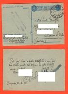 56° Fanteria MESTRE Posta Militare 1942 Da Carpenedo X Venezia Franchigie Forze Armate - 1900-44 Victor Emmanuel III