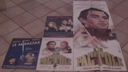 LOT 4 AFFICHES CINEMA FILMS Jean-Pierre MOCKY AGENT TROUBLE LE MIRACULE LE PACTOLE DENEUVE SERRAULT MOREAU - Posters