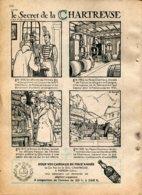 Publicité De Presse Décembre 1951 : Les Secrets De La Chartreuse à Voiron (38) - Pubblicitari