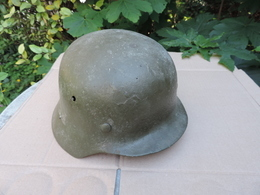 Casque ALLEMAND à Identifier N°1 - Headpieces, Headdresses